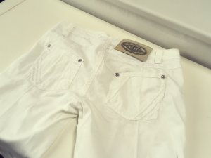 Versace Jeans weiße Stoffhose