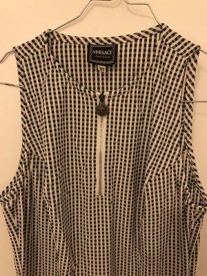 Versace Kleid in schwarz-weiß