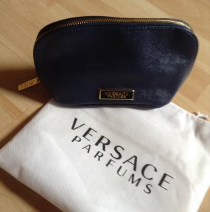 Versace Kulturbeutel in eleganter Safiano Optik, neu, orginalverpackt mit Beutel
