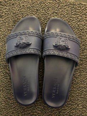 Versace Sandalo blu scuro