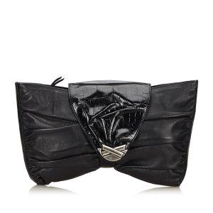 Versace Borsa clutch nero Pelle