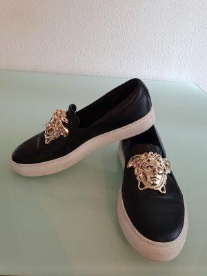 Versace Pantofola nero-oro