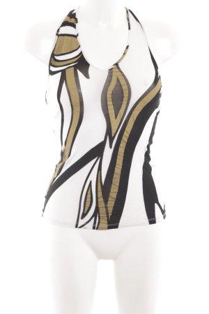 Versace Halter Top animal pattern extravagant style