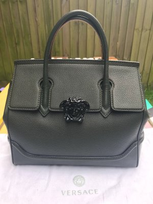 Gianni Versace Handbag khaki-dark green