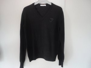 Versace Collection V-Neck Sweater black