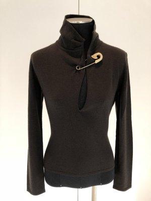 Versace Pullover dunkelbraun