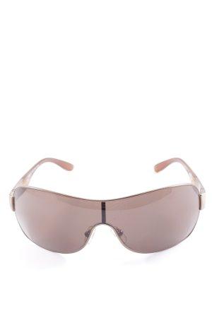 Versace Retro Brille braun extravaganter Stil