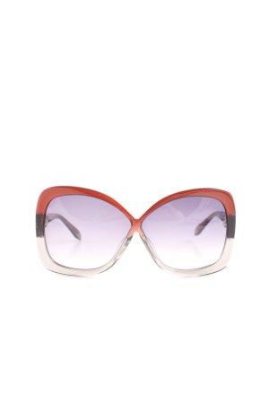 Versace Retro Glasses color gradient casual look