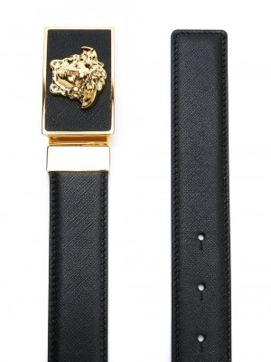 Versace Reversible Medusa Leather Belt