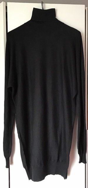 Versace Pull-over à col roulé noir