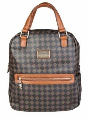 Versace Backpack Trolley cognac-coloured