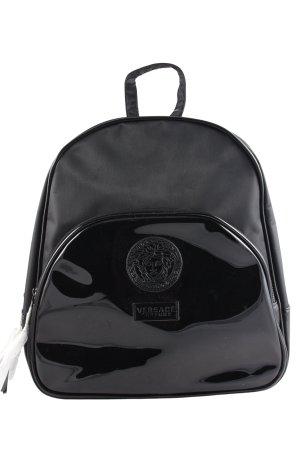Versace Rucksack schwarz klassischer Stil