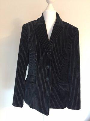 Versace Blazer blu scuro-grigio chiaro