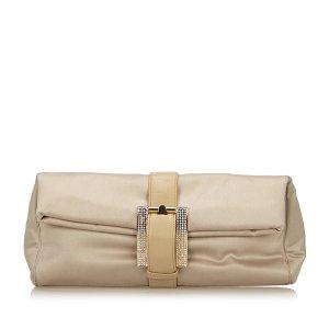 Versace Satin Clutch Bag