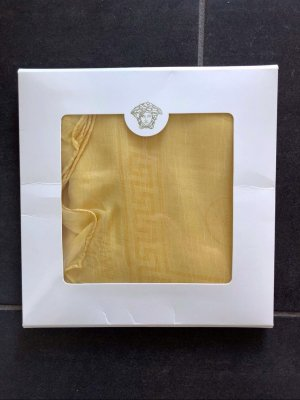 Versace Silk Cloth gold-colored silk