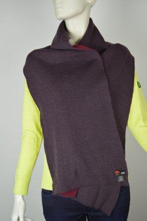 Versace Sciarpa di lana rosso mora-viola Lana