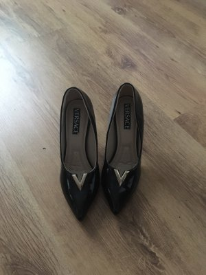 Versace Tacco alto nero