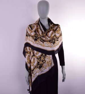 Versace Silk Scarf multicolored