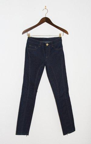 VERSACE Sexy Skinny Jeans, dark denim blue
