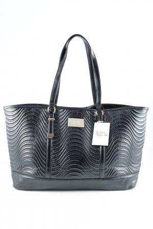 Versace Shopper black quilting pattern classic style