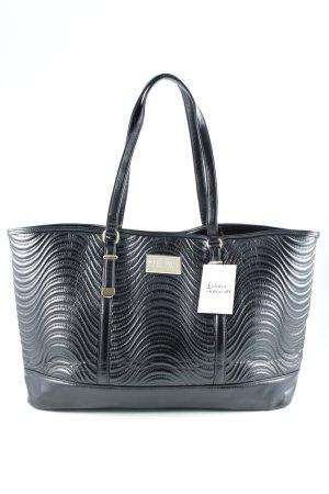 Versace Shopper schwarz Steppmuster klassischer Stil