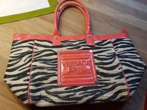 Versace Shoppingbag Zebra/orange