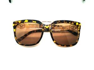 Versace Angular Shaped Sunglasses multicolored
