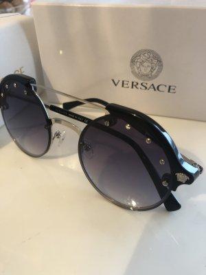 Versace Bril zwart-grijs
