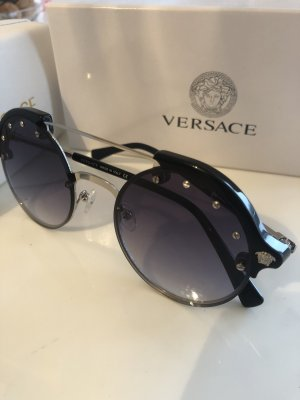 Versace Occhiale nero-grigio