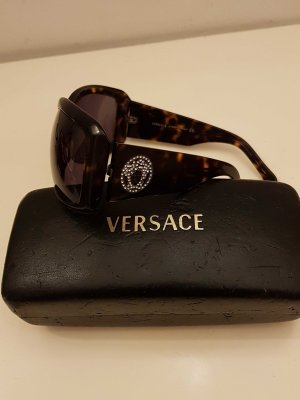 VERSACE Sonnenbrille, schwarzbraun