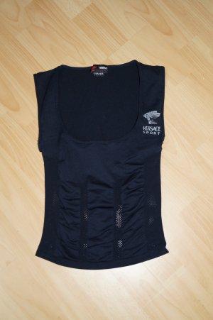 Versace Sportshirt schwarz