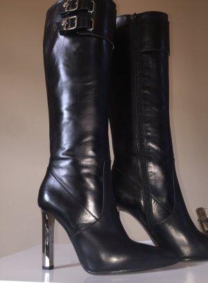 Versace Stiefeln Leder Gr.40 Neu