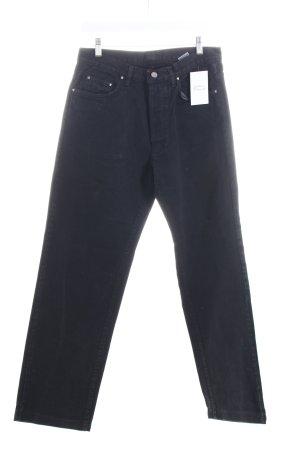 Versace Straight-Leg Jeans schwarz klassischer Stil