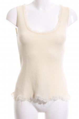 Versace Knitted Top cream casual look