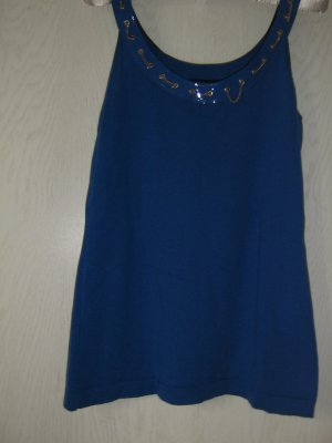 Versace Knitted Top blue wool