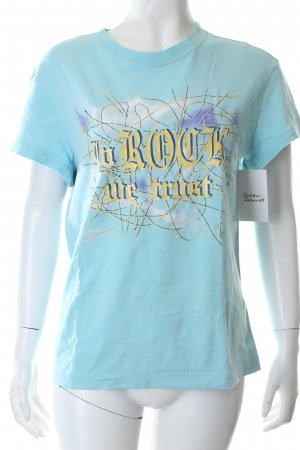 Versace T-Shirt mehrfarbig Casual-Look