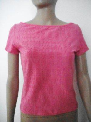 VERSACE T-Shirt Top Stretch Pink