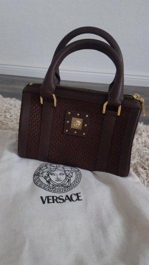 Versace Borsetta marrone-marrone scuro