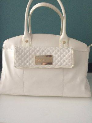 Versace Tasche weiß glänzend