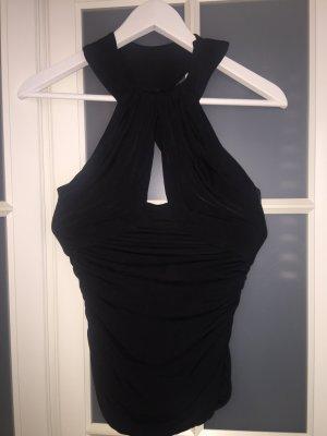 Versace Top in schwarz