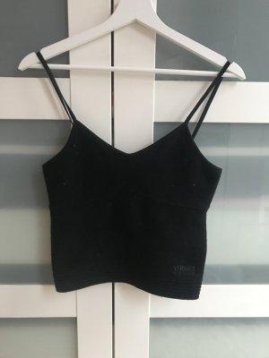 Versace Jeans Spaghetti Strap Top black cashmere