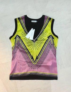 Versace Collection Zijden top veelkleurig Zijde