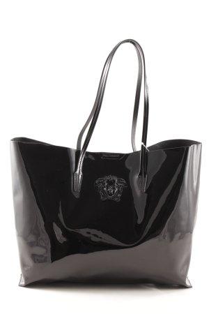 Versace Bolso de compra negro look casual