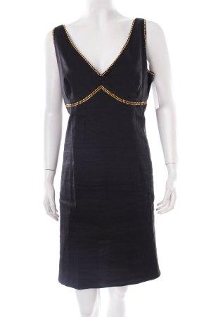 Versace Trägerkleid schwarz schlichter Stil