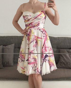 Versace VJC floral Sommerkleid leicht traumhaft Gr. 36/S 100% Seide
