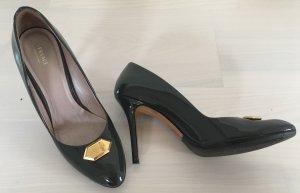 Versace Tacco alto grigio Pelle