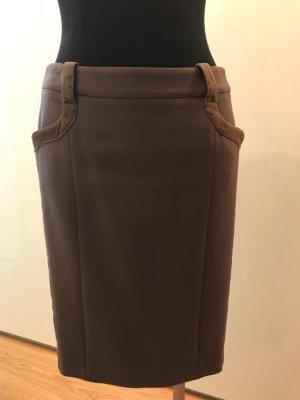 Versace Jupe crayon taupe