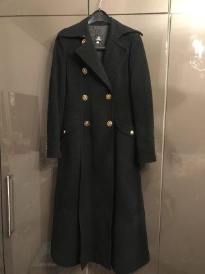 Versace Cappotto in lana nero