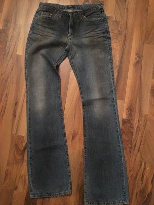 Versace Jeans a zampa d'elefante blu scuro
