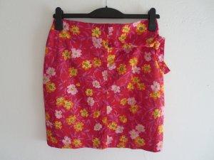 Versage Jeans Couture Rock rot Blumen